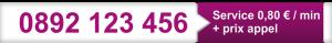 numéro surtaxé - numero majoré - numéro spéciaux